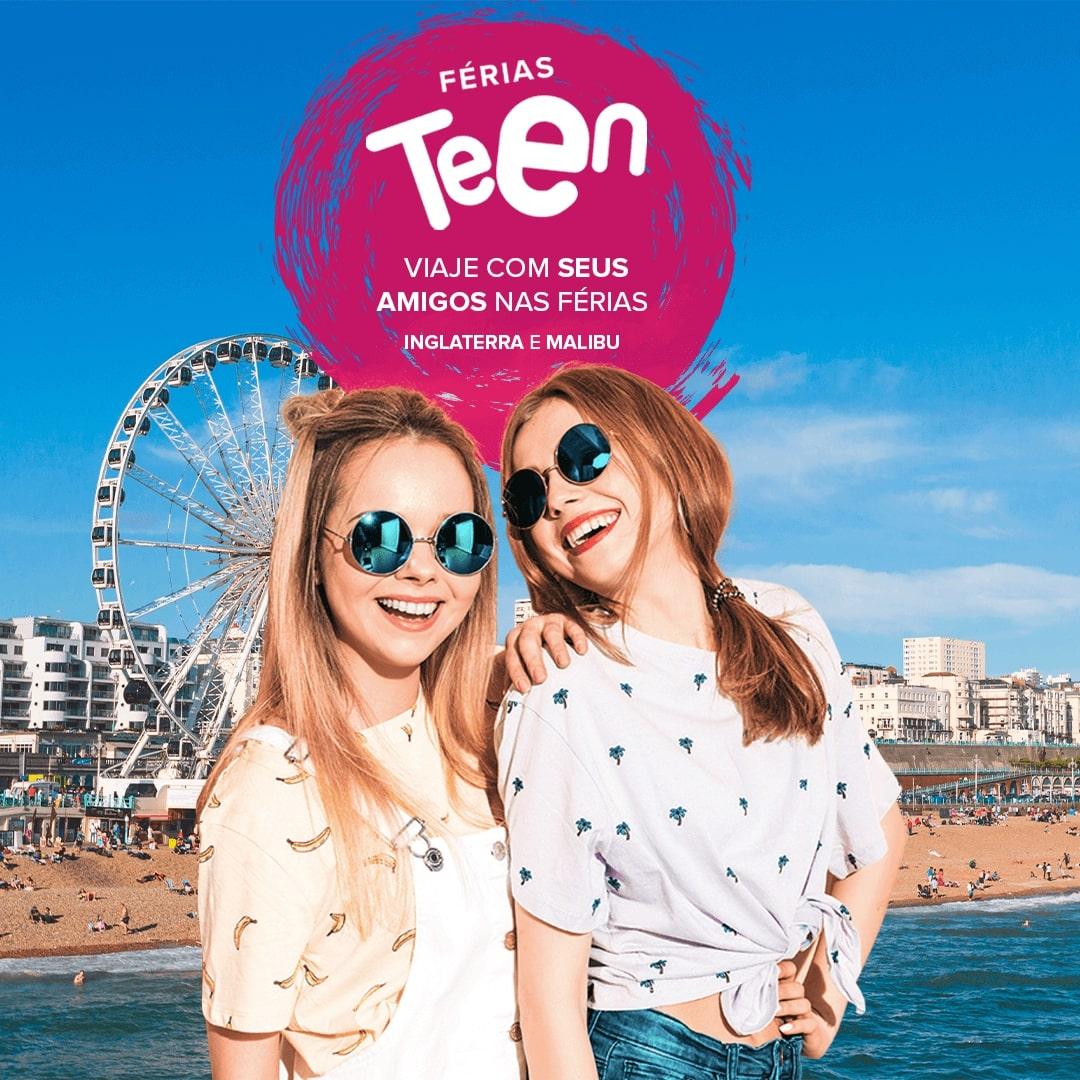 Curta suas próximas férias escolares no exterior. Conheça os programas de Férias Teen da Intercultural!