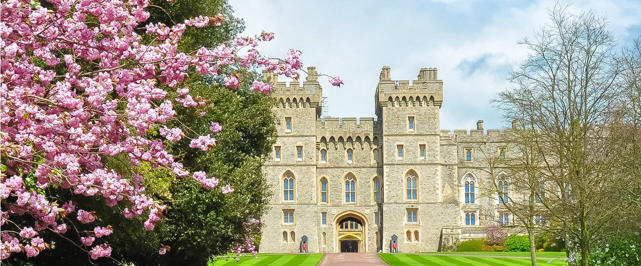 O Castelo de Windsor é um dos pontos turísticos da Inglaterra