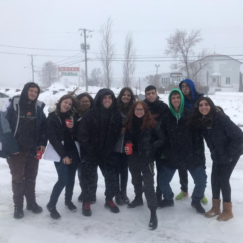Viagem para Montreal com direito à neve
