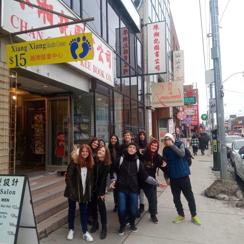 Dia de aula + Chinatown