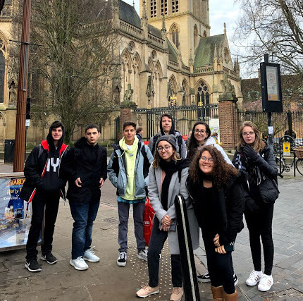Dia de passeio em Cambridge e no Rio Cam