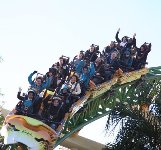 Veja as fotos do Busch Gardens!
