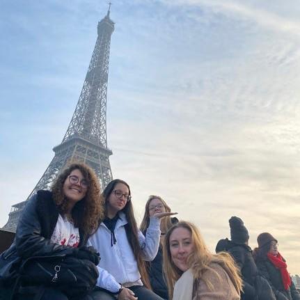 Chegamos em Paris