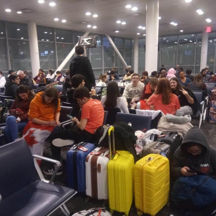 Estamos a caminho de São Paulo