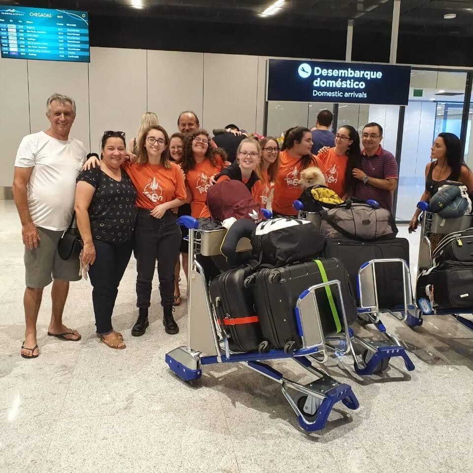 Grupo Europa Jovem já está em Florianópolis!