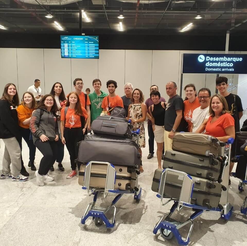 Grupo Teen Toronto chegou em Florianópolis!