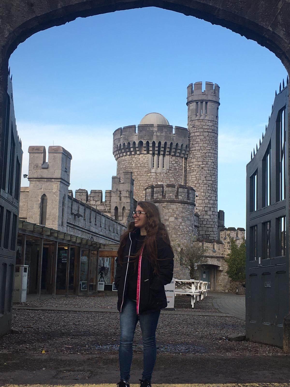 Mariana fez intercâmbio na Irlanda, em Cork