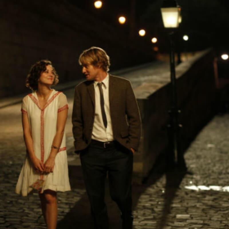 Filme: Meia noite em Paris com Owen Wilson