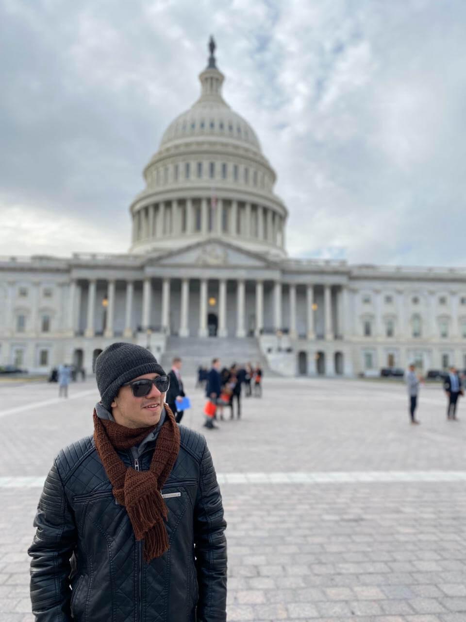 Vinicius viajou pelos Estados Unidos antes do Work Experience USA