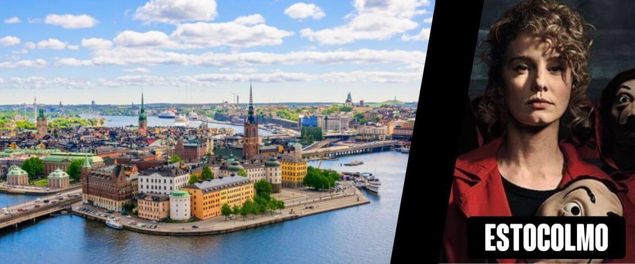 La Casa de Papel 4: personagem e cidade Estocolmo