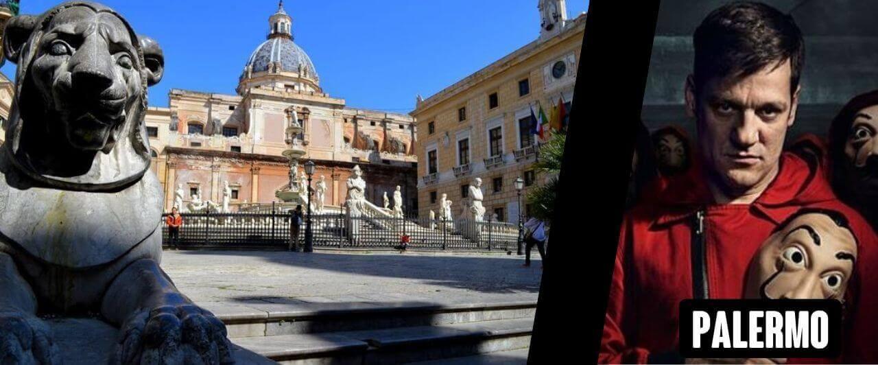 La Casa de Papel 4: Personagem Palermo