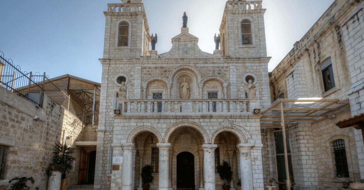 Igreja de São Bartolomeu, em Caná