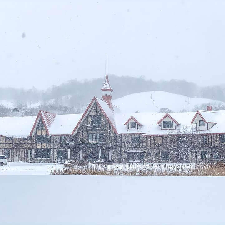 Boyne Highlands durante a temporada de inverno