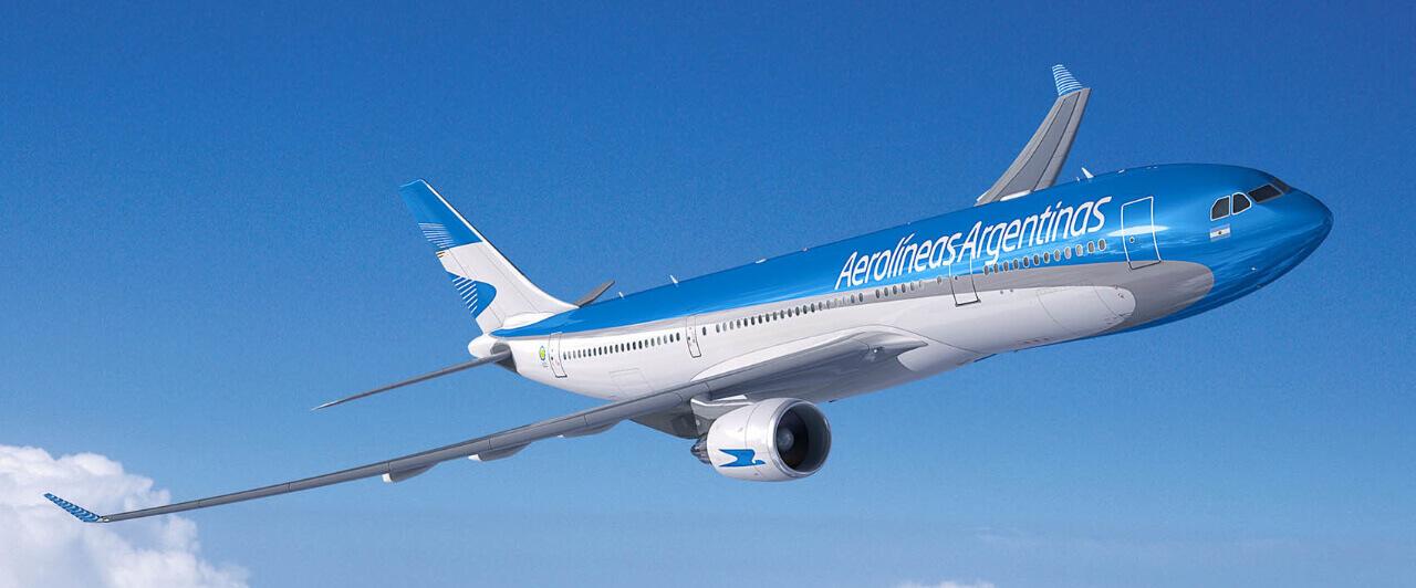aerolíneas é uma das companhias que anunciou a retomada dos voos internacionais