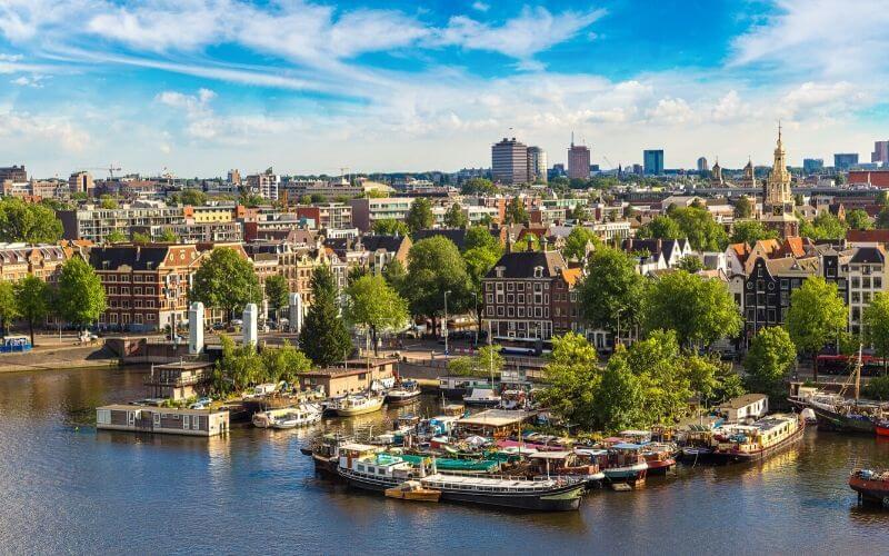 Amsterdam, a cidade mais verde da Europa