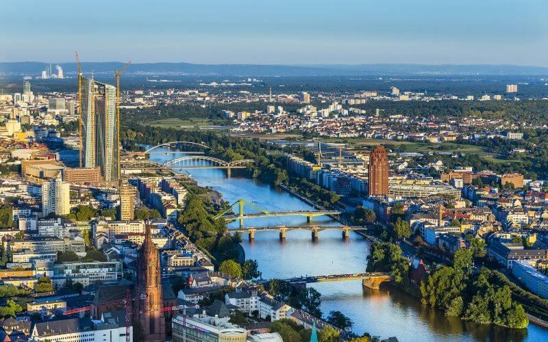 Frankfurt também integra a lista das cidades mais verdes do mundo