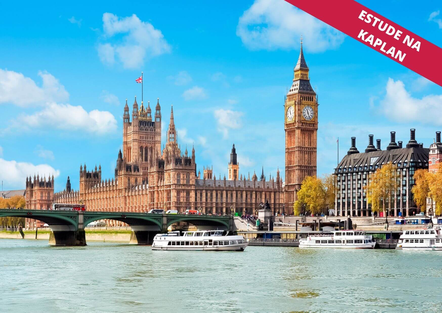 Estude inglês em Londres