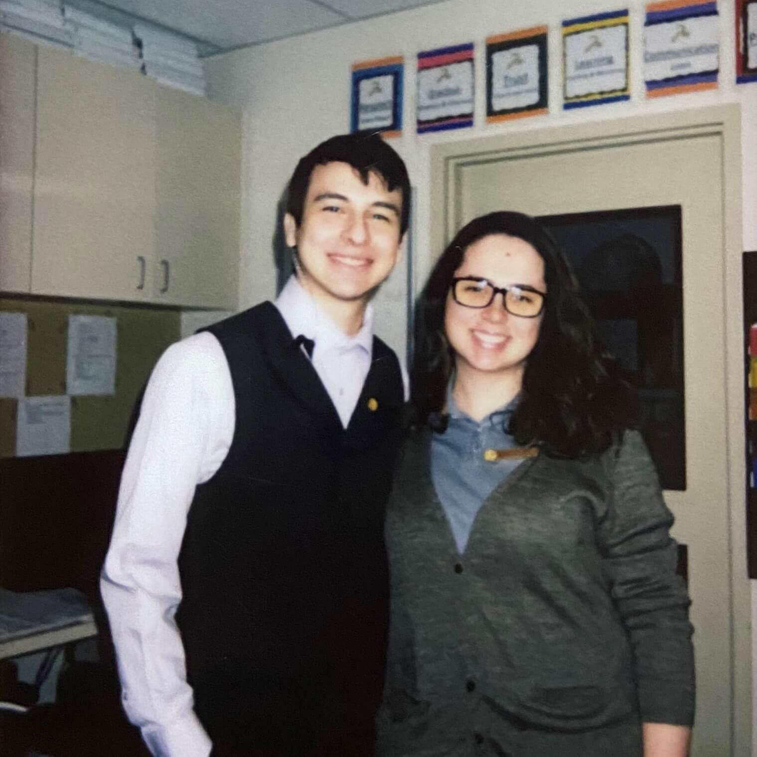 Bruna e Eduardo trabalhando em Montage Deer Valley