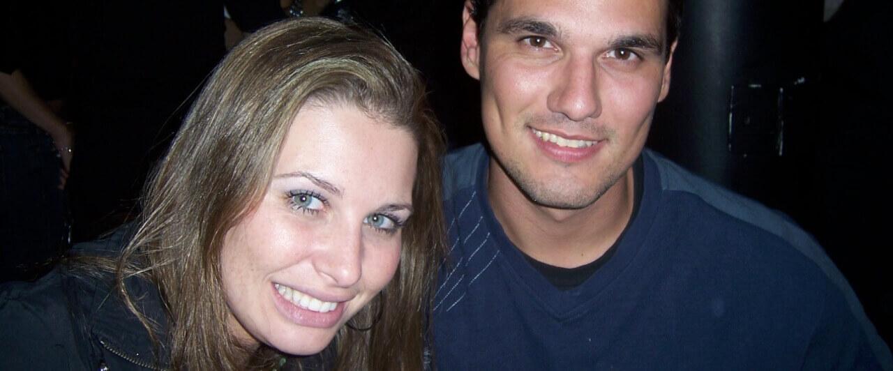 Dia dos namorados: Luciana e Eduardo se apaixonaram no intercâmbio
