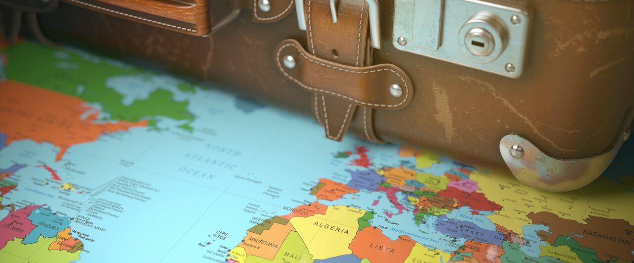 Viagem internacional: Planejando a sua primeira viagem