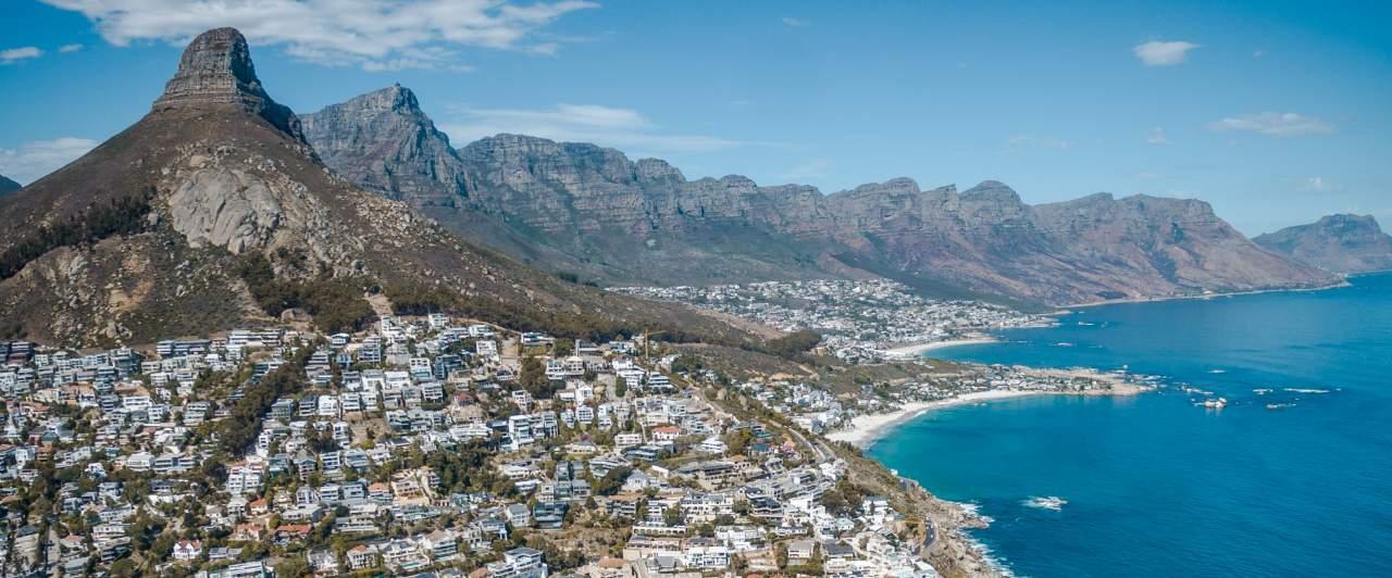 Cidades da África do Sul para turismo e intercâmbio.