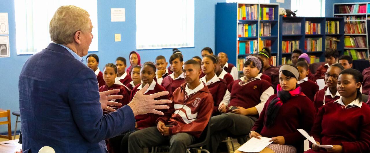Como é fazer o Ensino Médio na África do Sul?