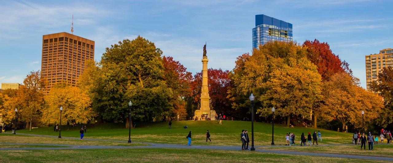 Conhecer a cidade de Boston é como conhecer o mundo