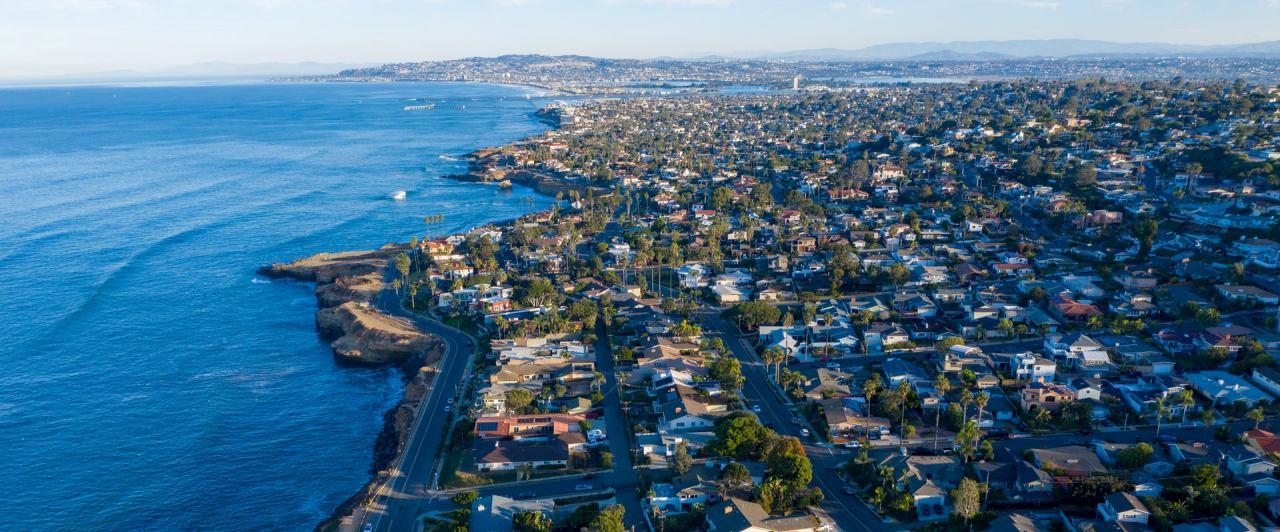Cidade de San Diego: segunda maior cidade da Califórnia
