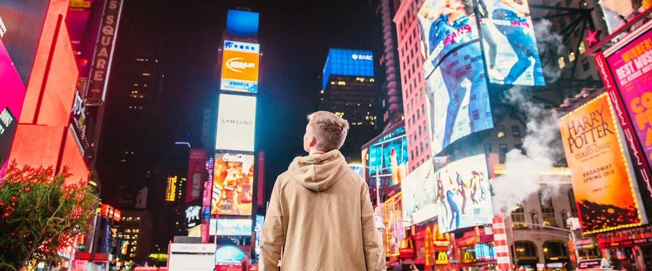 Conheça a Times Square: a rua mais famosa dos EUA